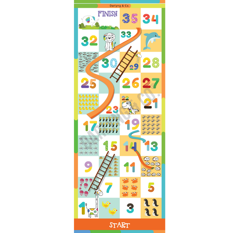 Kids Counting Numbers Play Mat