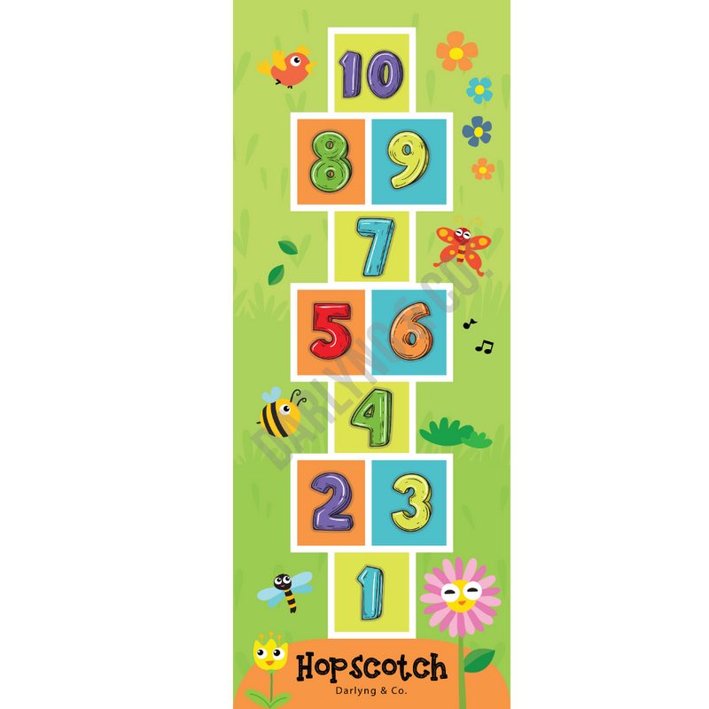 Kids Hopscotch Play Mat