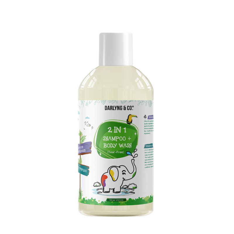 2 IN 1 Shampoo + Body Wash (Tear-Free)