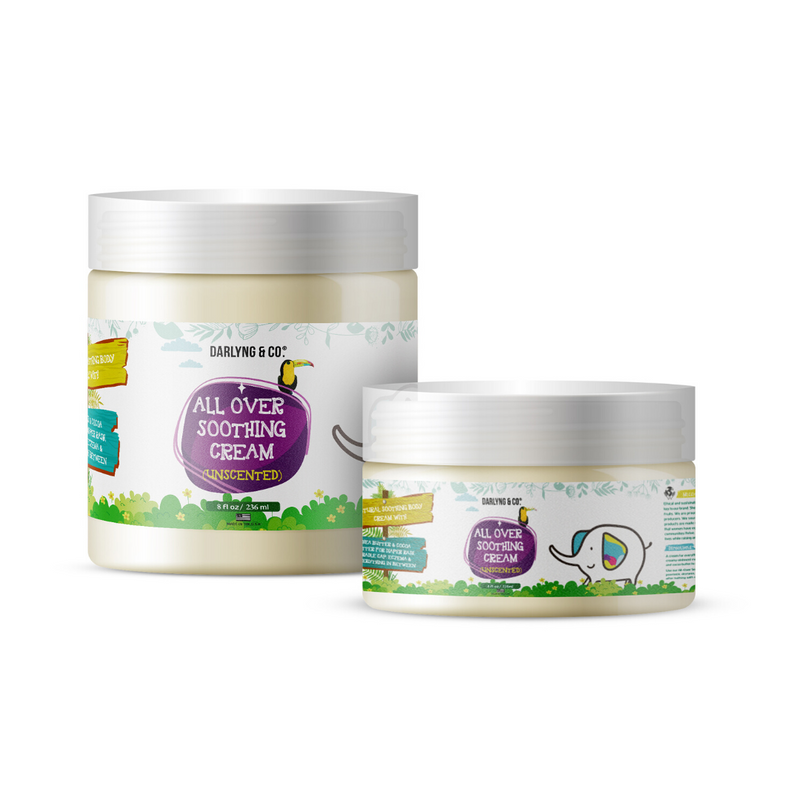 All Over Soothing Baby Cream (Unscented) For Eczema