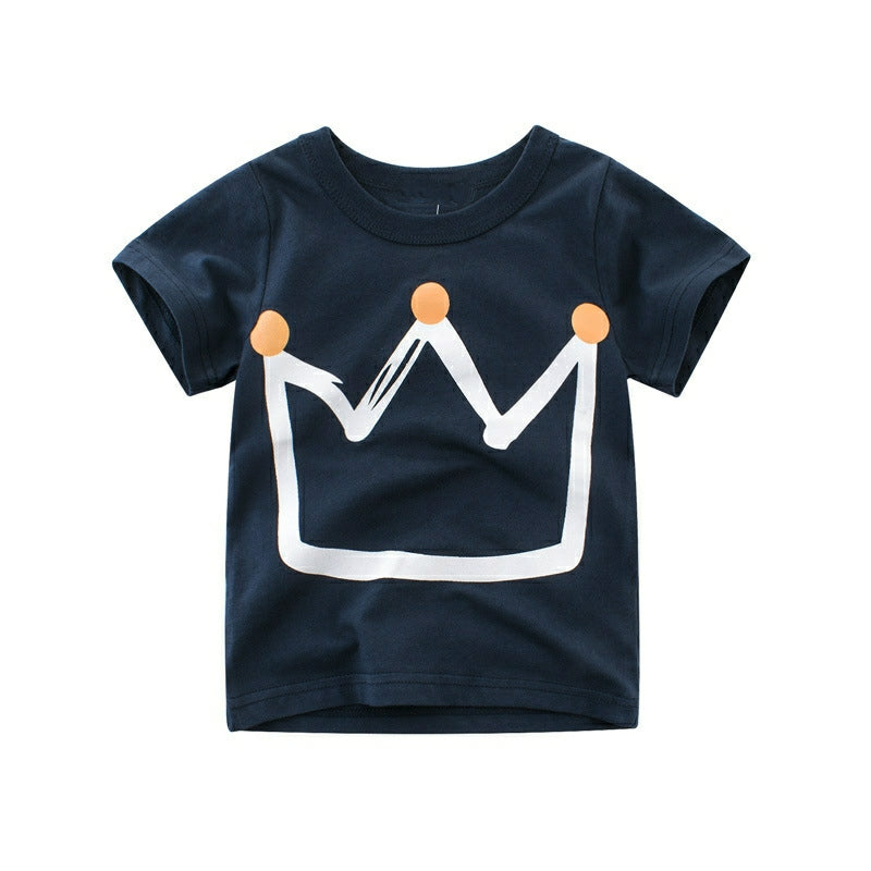 king crown toddler tee
