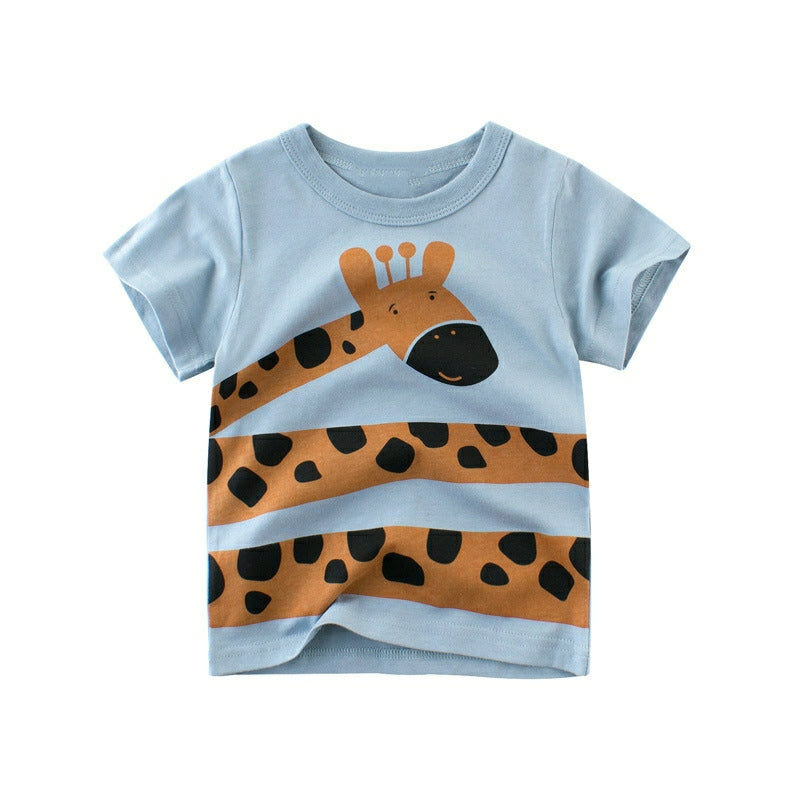 giraffe toddler tee