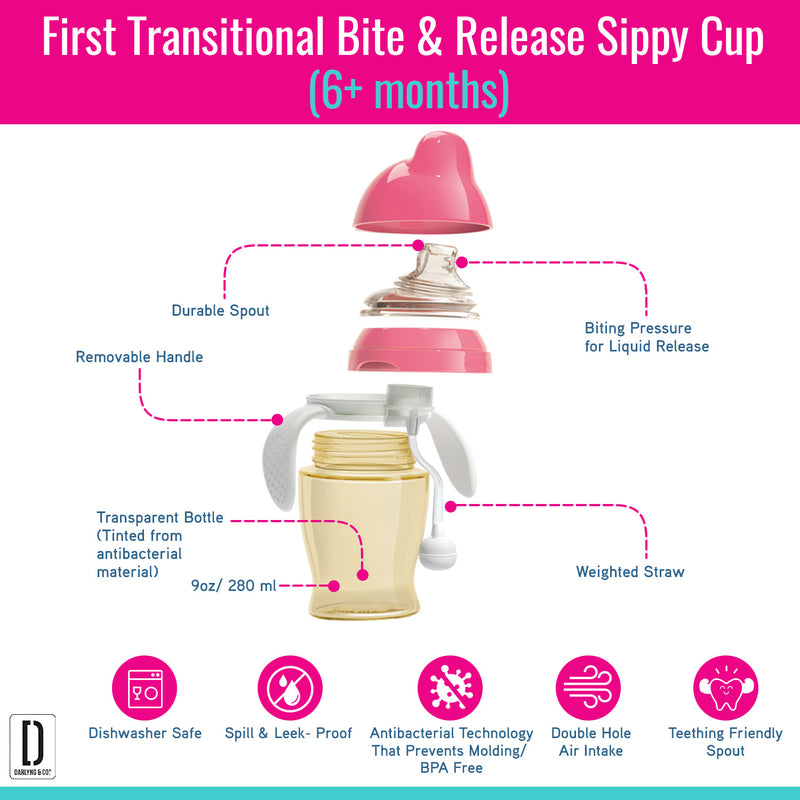 Transition Antibacterial Sippy Cup