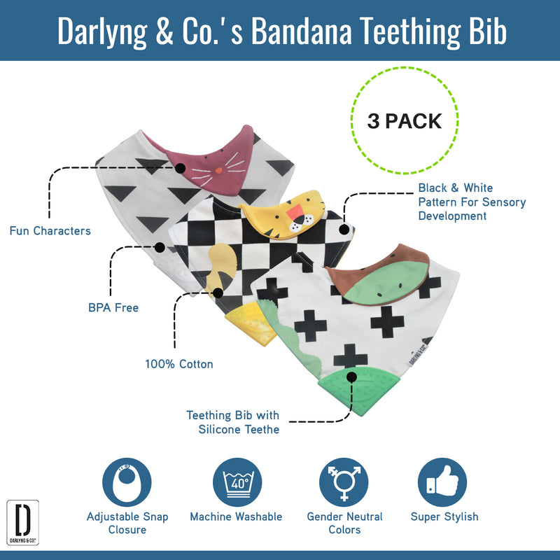 Bandana Teething Bib
