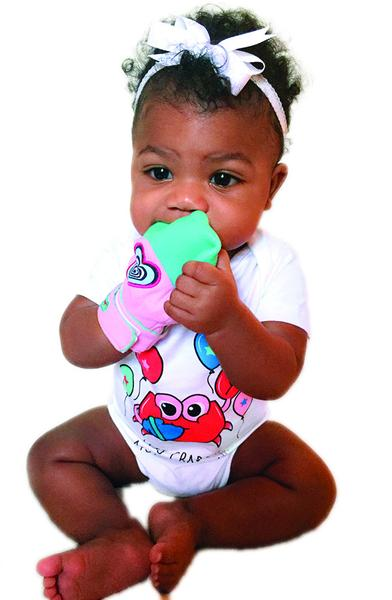 Yummy Mitt® Teething Mitten - 4 Colors Available - Glow In The Dark & Non-Glow! - DARLYNG & CO.®