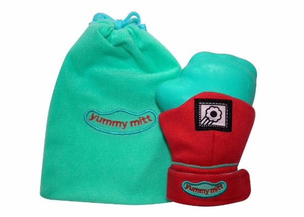 Yummy Mitt® Teething Mitten - 4 Colors Available - Glow In The Dark & Non-Glow!