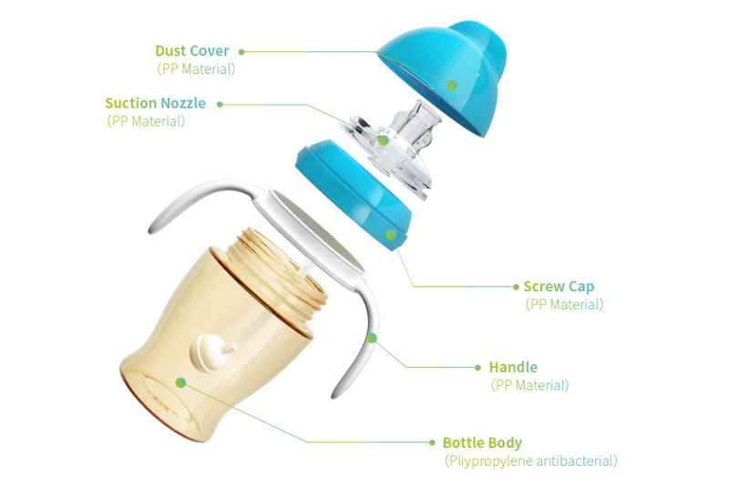 bite resistant baby sippy cup