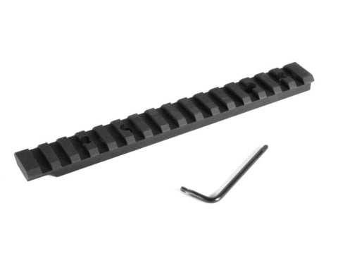 EGW HD Heavy Duty Tactical Picatinny Weaver Scope Mount Rail Base - Ruger - Australian Tactical Precision