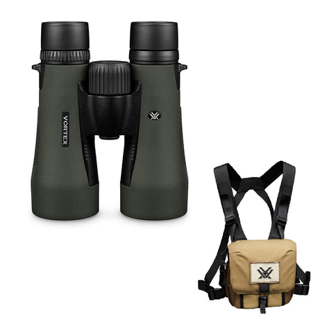 Vortex Diamondback HD 10x50 Binoculars with GlassPak Case DB-216 - Australian Tactical Precision