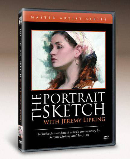 The Portrait Sketch with Jeremy Lipking DVD