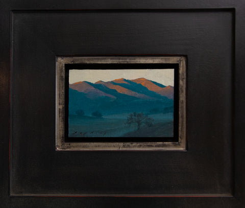 "Sunrise at Paramount Ranch by Jeremy Lipking 4""x6"""