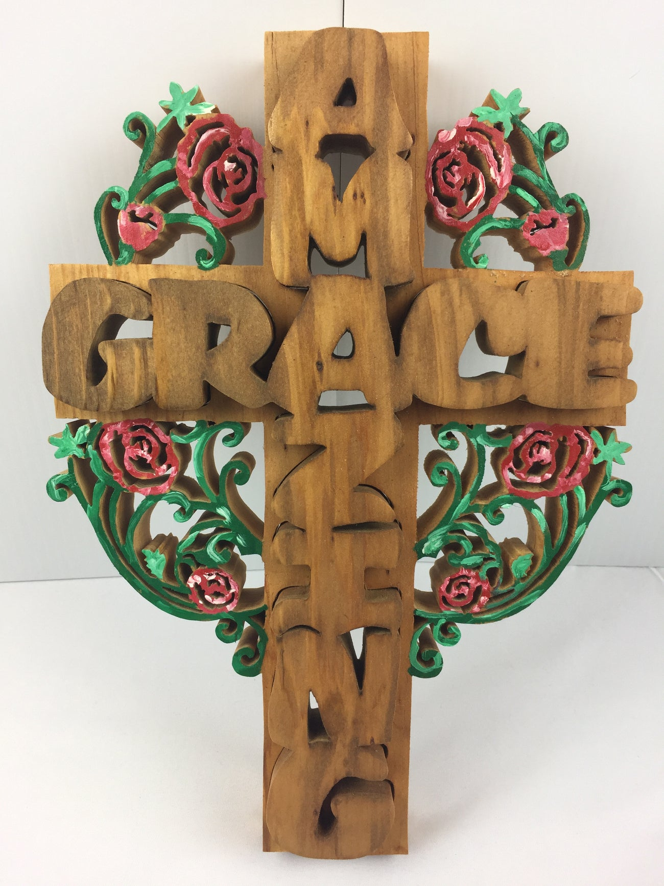 3D Amazing Grace Cross