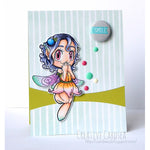Giggle Fairy Digi Stamp, SomeOddGirl - 2