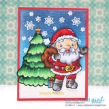 Santa Clear Stamp, SomeOddGirl - 2
