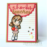 Teacher's Pet Tia Digi Stamp, SomeOddGirl - 2