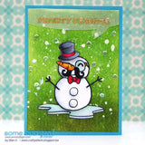 Build a Snowman Clear Stamp, SomeOddGirl - 2