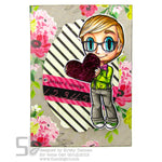 Tobie Loves Digi Stamp, SomeOddGirl - 2