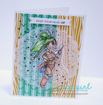 Amazon Mae Digi Stamp, SomeOddGirl - 4