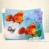 Angel Fish Digi Stamp, SomeOddGirl - 2