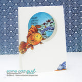 Angel Fish Digi Stamp, SomeOddGirl - 4