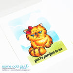 Angry Persian Digi Stamp, SomeOddGirl - 2
