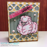 Bad Hair Day Sheep Digi Stamp, SomeOddGirl - 2