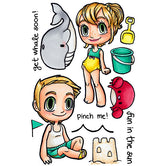 Beach Day Buddies Clear Stamp