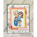 Best Friends Tobie & Tia Digi Stamp, SomeOddGirl - 2