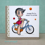 Bicycle Kaylee Digi Stamp