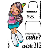 Big Wishes Mae Clear Stamp, SomeOddGirl - 1
