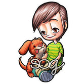Boy's Best Friend Tobie Digi Stamp