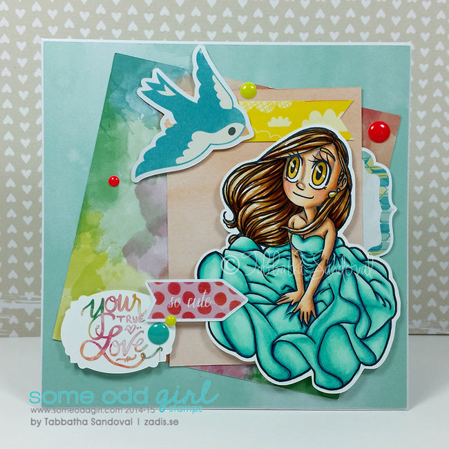 Breezey Mae Digi Stamp, SomeOddGirl - 7