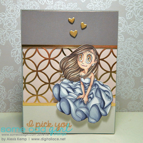 Breezey Mae Digi Stamp, SomeOddGirl - 3