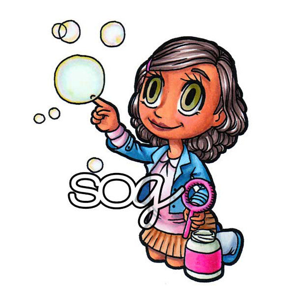 Bubbles Tia Digi Stamp, SomeOddGirl - 1