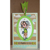 Bug Catcher Tobie Digi Stamp, SomeOddGirl - 2