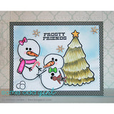 Build a Snowman Clear Stamp, SomeOddGirl - 3
