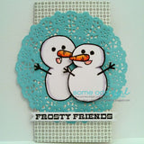 Build a Snowman Clear Stamp, SomeOddGirl - 4