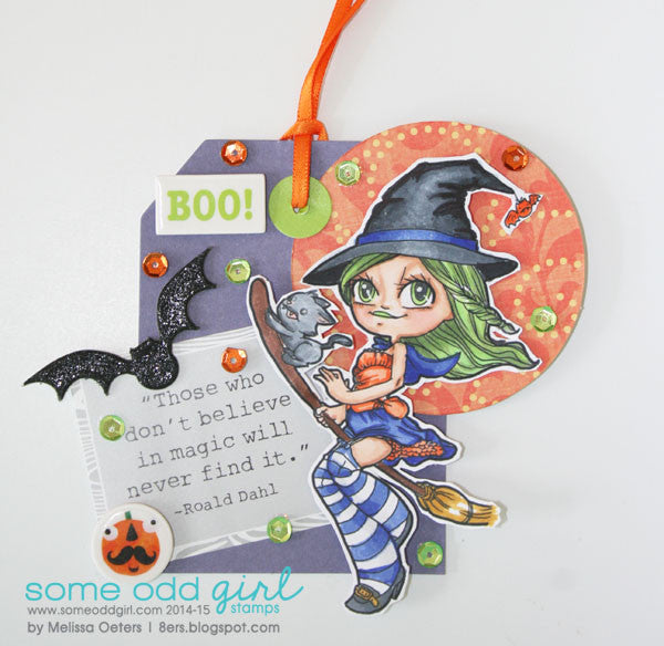 Witchy Mae Digi Stamp, SomeOddGirl - 5