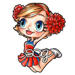 Cheerleader Kaylee Digi Stamp, SomeOddGirl - 1