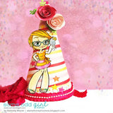 Cheers Kaylee Digi Stamp, SomeOddGirl - 4
