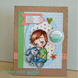 Boy's Best Friend Tobie Digi Stamp, SomeOddGirl - 4