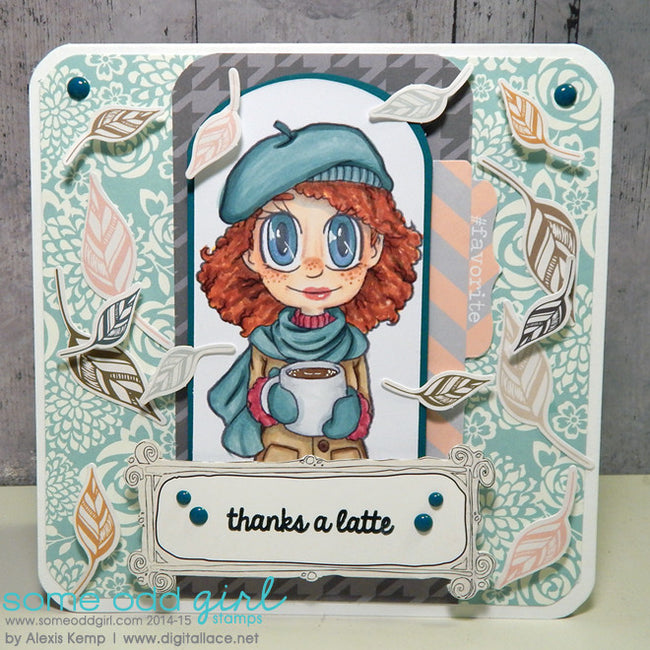 Coffee Piper Digi Stamp, SomeOddGirl - 6