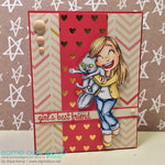 Crazy Love Tia Digi Stamp, SomeOddGirl - 3