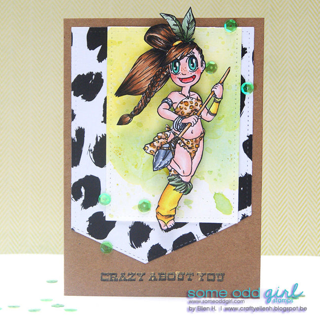 Amazon Mae Digi Stamp, SomeOddGirl - 2