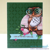 Nerd Bird Digi Stamp, SomeOddGirl - 4