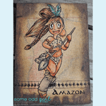 Amazon Mae Digi Stamp, SomeOddGirl - 7