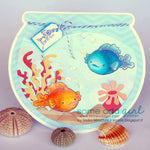 Goldie Fish Digi Stamp