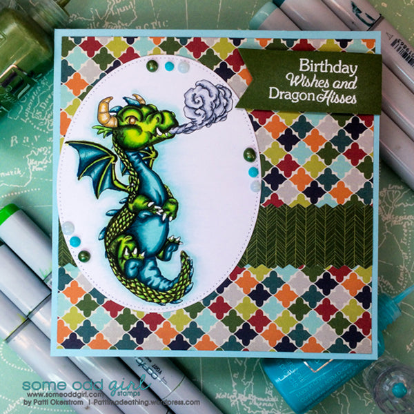 Dragon Digi Stamp