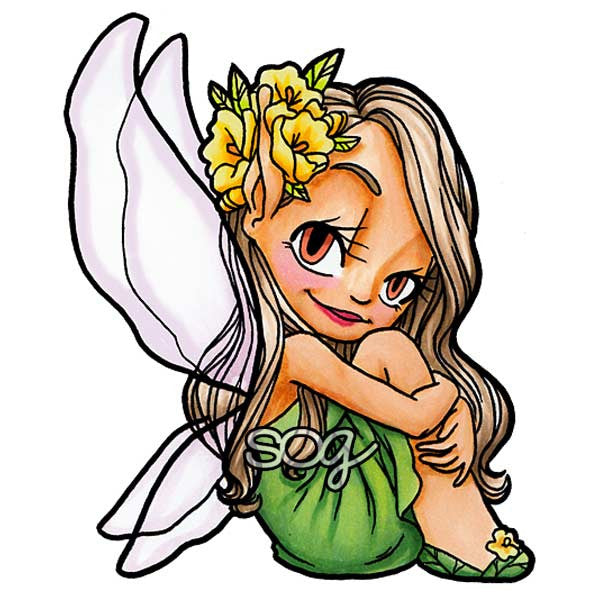 Fairy Magic Digi Stamp