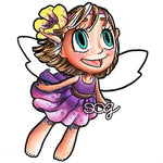Fairy in Flight Digi Stamp
